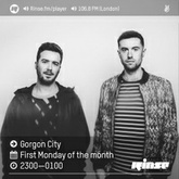 Gorgon City - Rinse FM - 3rd October 2016