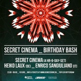 Gem Sessions: Enrico Sangiuliano @ Toffler, Rotterdam - Secret Cinema Bday Bash - March 7th, 2015