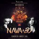Nava & BO - EDC México 2015 (Circuit Grounds Stage)