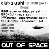 KiNK DJ Set 19.01.2008 OUT OF SPACE Rave Tribute Party At 3ushi (Sofia)