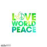 Love World Peace