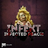 Infected Peach